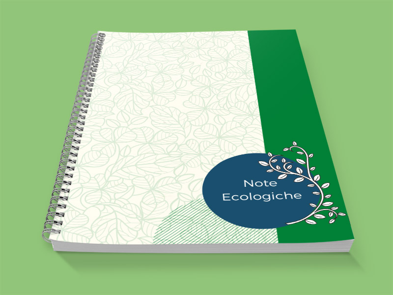 Block notes ecologico