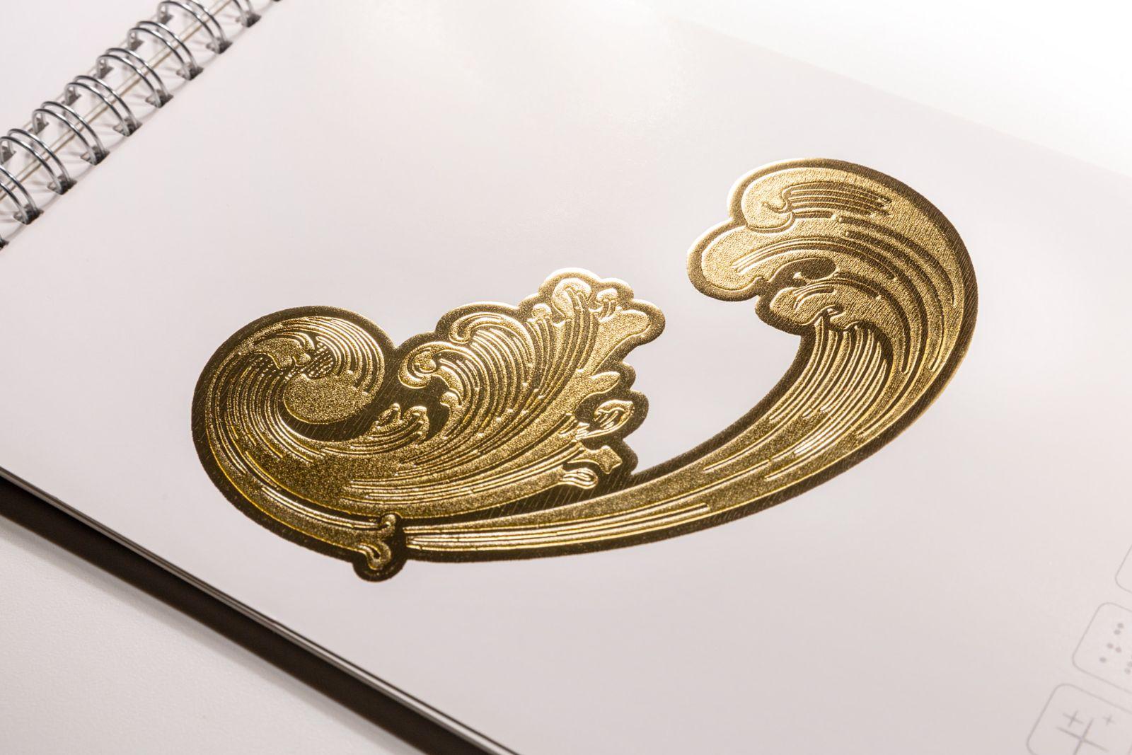 lamina oro 3D Skillpress